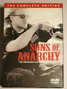 The Sons Of Anarchy The Complete Edition Box Set Seasons 1 to 4 , 20 Disc Set