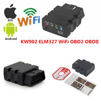 ELM327 KW902 ODB2 OBDII WiFi Car Code Reader Diagnostic Scanner For iOS &Android