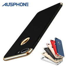 For iPhone X 6S 7 8 Plus Shockproof Luxury Thin Hybrid Slim Hard Case Cover