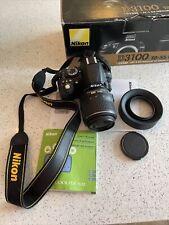 Nikon D D3100 14.2MP Digital SLR Camera - Black (Kit w/ 18-55mm )