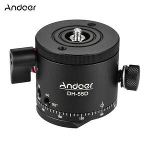 Andoer DH-55D HDR Panoramic Ball Head Indexing Rotator Photography Head N7J0