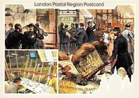 London Postal Region Postcard, 1983 Post Office Parcels Centenary BP4