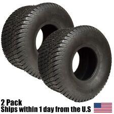 2PK 20x10.00-8 Soft Turf Tires 4 Ply Lawn Mower Garden Tractor 20x10x8 20x10-8