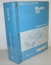 Werkstatthandbuch Mazda 121 Typ JASM / JBSM Stand Februar 1996!