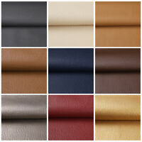 """1/3/5 Yards Solid Faux Leather Fabric Upholstery Pleather Marine Vinyl  54"""" Wide"""