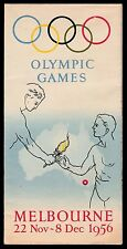 1956 Melbourne Olympic Games Promotional Brochure - scarce. Excellent condition