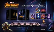AVENGERS INFINITY WAR ONE CLICK BLUFANS BLU-RAY STEELBOOK NEW & SEALED PRE-ORDER