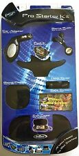 NEW PSP PRO STARTER KIT SOFT CASE, CAR ADAPTER, EAR BUDS, GAME CASE & MORE!