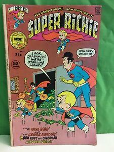 Richie Rich, SUPER RICHIE Comic Book, #2,  Nov 1975, Harvey Comics