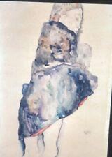 "Egon Schiele ""Woman In Blanket"" Vienna Secession Expressionism Art 35mm Slide"