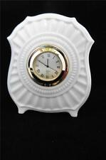 LENOX Fluted Mini Clock Made in USA 6151666 Mint