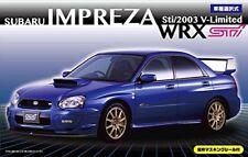 Fujimi model 1/24 inch up series No.103 Subaru Impreza WRX Sti / 2003 V-Limited