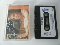 TAMMY WYNETTE HIGHER GROUND CASSETTE TAPE 1987 PAPER LABEL EPIC CBS UK