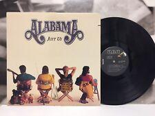 ALABAMA - JUST US LP CUT-OUT EX-/EX 1987 US RCA VICTOR 6495-1-R