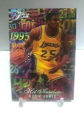 1995-96 Flair Hot Numbers Eddie Jones #3/15