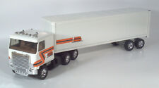 "Ertl Woods Trucking Semi Trailer 19"" Scale Model Woods Trucking Ruan Custom"