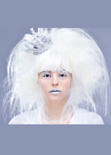 Ladies White Witch Style Snow Queen Wig DOES NOT INCLUDE CROWN