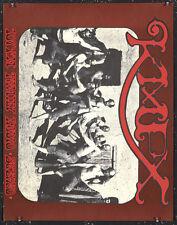 Original Vintage Poster KMPX Radio 1967 Stanley Mouse Alton Kelley Psychedelic