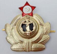 RUSSIA SOVIET UNION NAVY CAP BADGE PIN-L1040