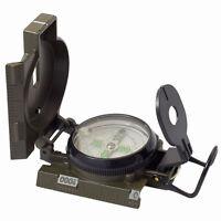 military style lensatic liquid filled compass dark green metal Humvee army