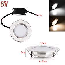 LED Recessed Ceiling Panel Down Lights Fixture 6W 8W 10W 12W 15W 18W Bulb Lamp