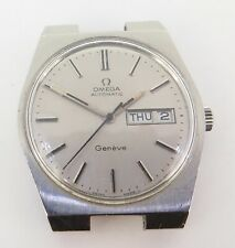 *Vintage 1972 Omega Automatic Geneve Cal 1022 Wrist Watch 166 0125 NO RESERVE
