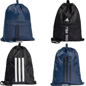 Adidas Gymsack Gym Sack Drawstring Bag 4 Athlts Sports Training 3 Stripes Bags