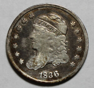 1836 Capped Bust Half Dime WB358