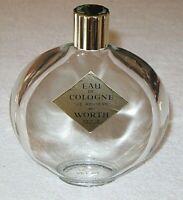 """Vintage Worth Perfume Lalique Bottle JE Reviens Cologne 9 OZ Store Factice 6"""" Ht"""