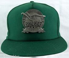 John Deere Baseball Hat Keeping the Promise Cap Pewter Medal Moline 1994 Vtg