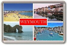 FRIDGE MAGNET - WEYMOUTH - Large - Dorest TOURIST