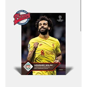 Mohamed Salah Club record scorer UEFA Champions League UCL TOPPS NOW #53 Presale