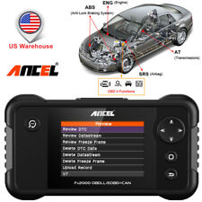 Ancel FX2000 ABS SRS Scanner Auto OBD2 Diagnostic Tool Check Engine Code Reader