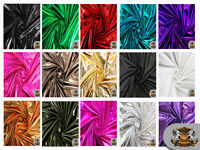 "Spandex Metallic Fabric / 60"" W / Sold by the yard"