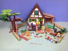 (O4207.1) playmobil Maison du garde forestier ref 4207
