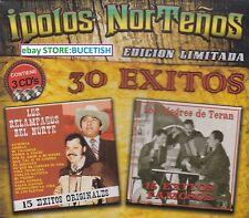 Los Relampagos del Norte y Los Alegres de Teran 30 Exitos 3CD New Nuevo sealed