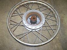 yamaha dt80 dt 80 front rim wheel hub no tire 81 82 83 1980 1983 gt80