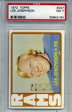 1972 Topps Football #247 - Les Josephson - PSA Graded 7 - Rams (Box DP)