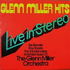 """12"""" The Glenn Miller Orchestra Glenn Miller hits live in stereo 70`s Kinney"""