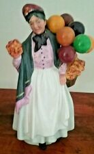 "Royal Doulton ""Biddy Pennyfarthing"" Figurine HN 7843 Balloon Lady 8.5"" tall"
