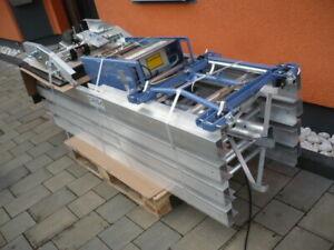 neu 200kg Geda Grundeinheit Standard Dachdeckeraufzug Leiterlift Schräglift