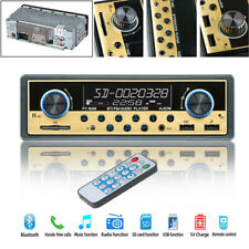 16PIN-ISO 4-Channel Dual USB Car Bluetooth Microphone Audio USB/SD/FM/MP3 Player