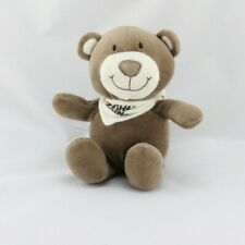 Bear Soft Toy Brown Scarf White Tower Toys - Bear Classic