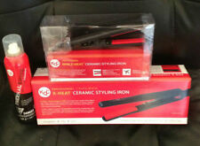 KQC X-Heat Tourmaline Ceramic Flat Iron + Kqc Mini Waver + KQC Shine Spray