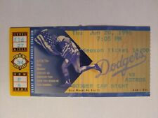 6/20/1996 Houston Astros @ Los Angeles Dodgers Ticket Stub Jeff Bagwell Home Run