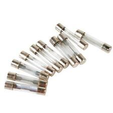 Confezione 10 Fusibili In Vetro Auto Impianto Elettrico Protezione Circuiti dfh