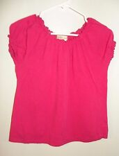 Guess Jeans- Shirt with ruffled collar- Pink- Size S