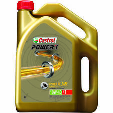 Castrol POWER1 4T Motorcycle Oil 10W-40 4 Litre