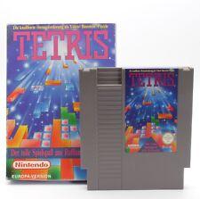 NINTENDO NES jeux tetris Module Pochette Emballage d'origine