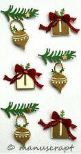 Artoz Artwork 3D-Sticker, Weihnachtsbescherung